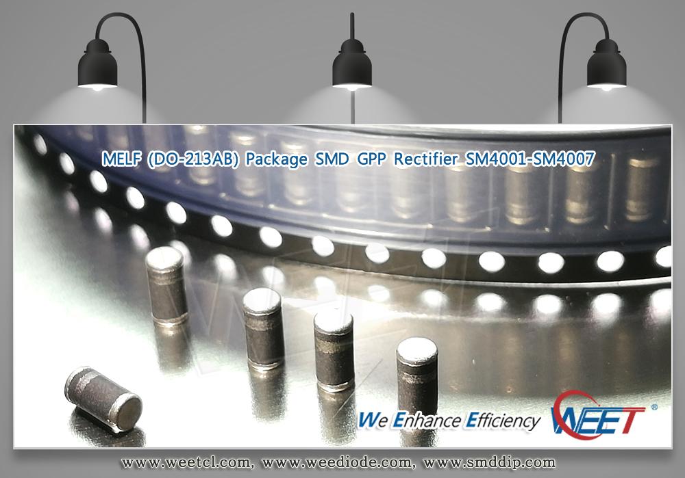WEET-Melf-Surface-Mount-Rectifier-SM4001-SM4007-LL4001G-LL4007G-DO213AB-1A-50V-1000V-GPP-Chips.jpg