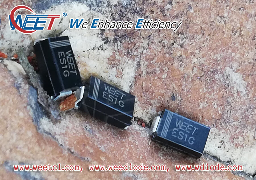 WEET SMD and Dip Didoes Package Cross Reference To Competitor Package Code