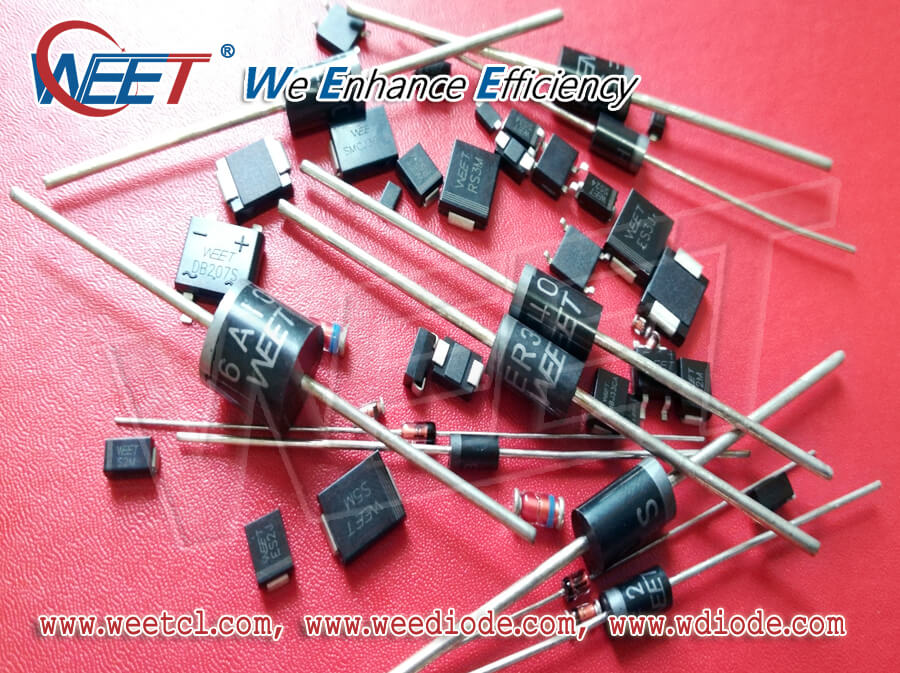 WEET Regular Lead Time for General Diodes Rectifiers and Special Delivery Time for TVS Suppressors
