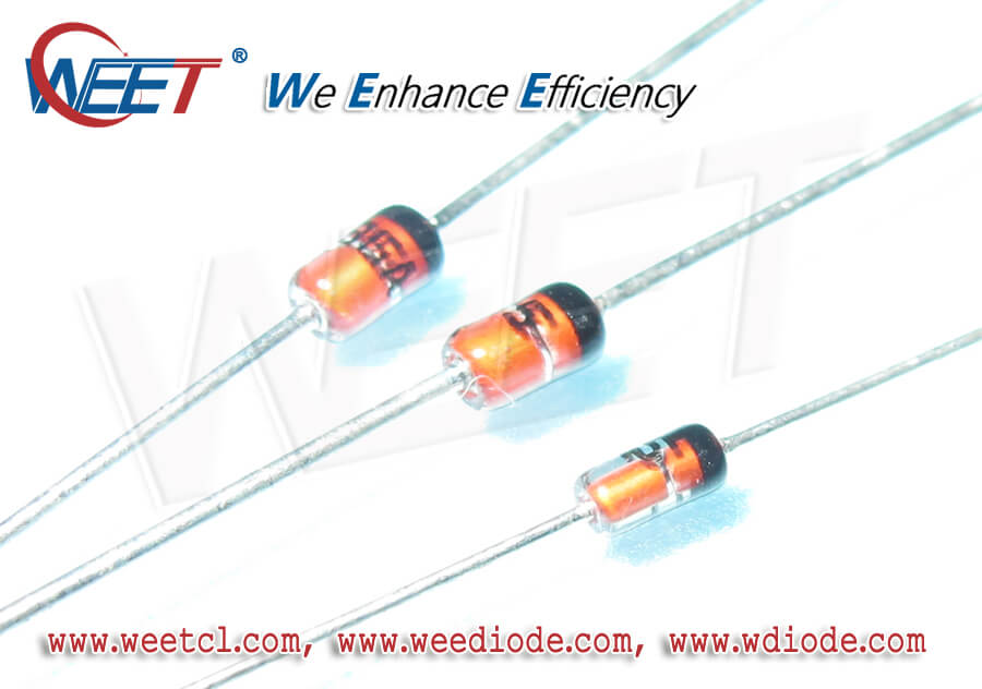 WEET Full Automative Machine for Glass Package Diodes BZV55 BZX55C BZX84C BZX85C1N4761A