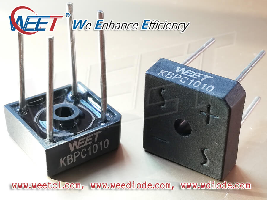 WEET Bridge Rectifier Diodes TVS Chinese Factory Compete With  and Cross Overseas Brands