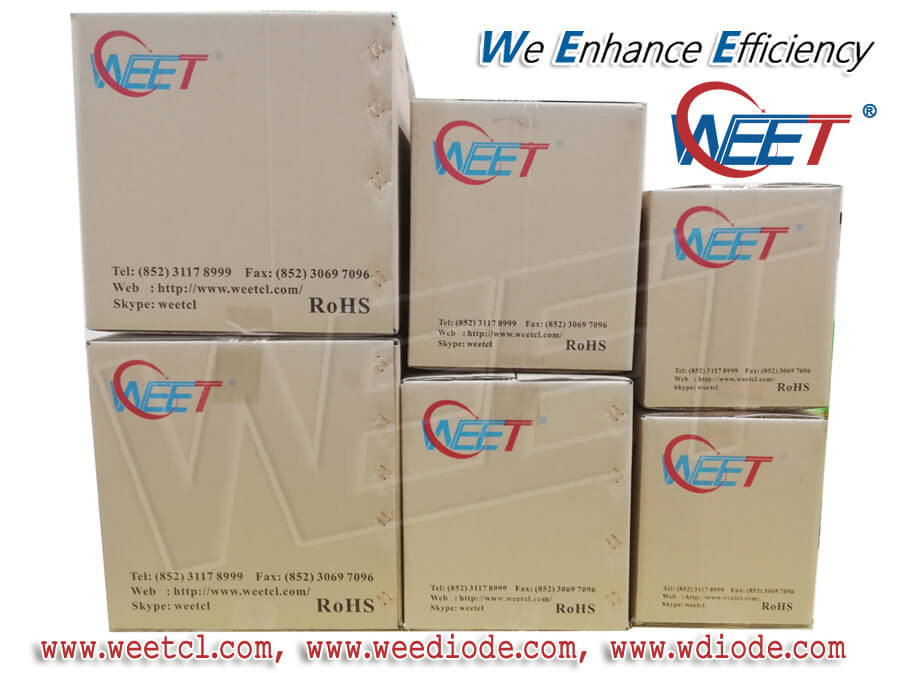 WEE Technology Diodes and Rectifiers Products Different Package MOQ and Packing Information